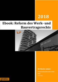 Ebook frei Baurechtsreform Liebert Roeth Berlin